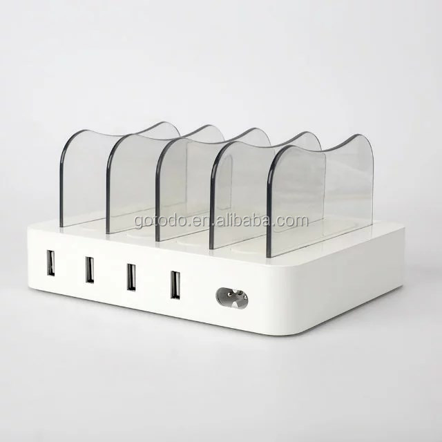 New arrive charge box station battery charger for mobile phone
