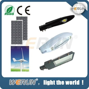 HIGH QUALITY &low Luminance decrease solar and wind energy led street light
