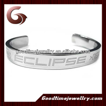 2014bangle with sayings stainless steel