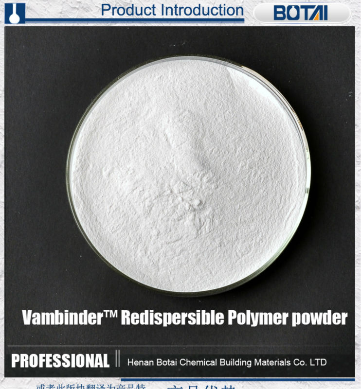 Eva pva coplymer powder concrete polymer powder for tile adhesive crack filler