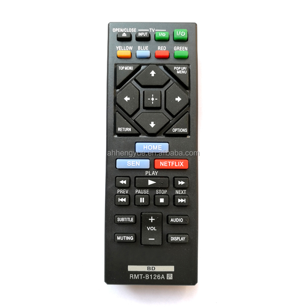 made for you remote control universal Remote Control for Sony Rmt b126a Blu-ray DVD Player universal led tv remote control