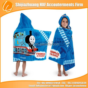 printed hooded towel