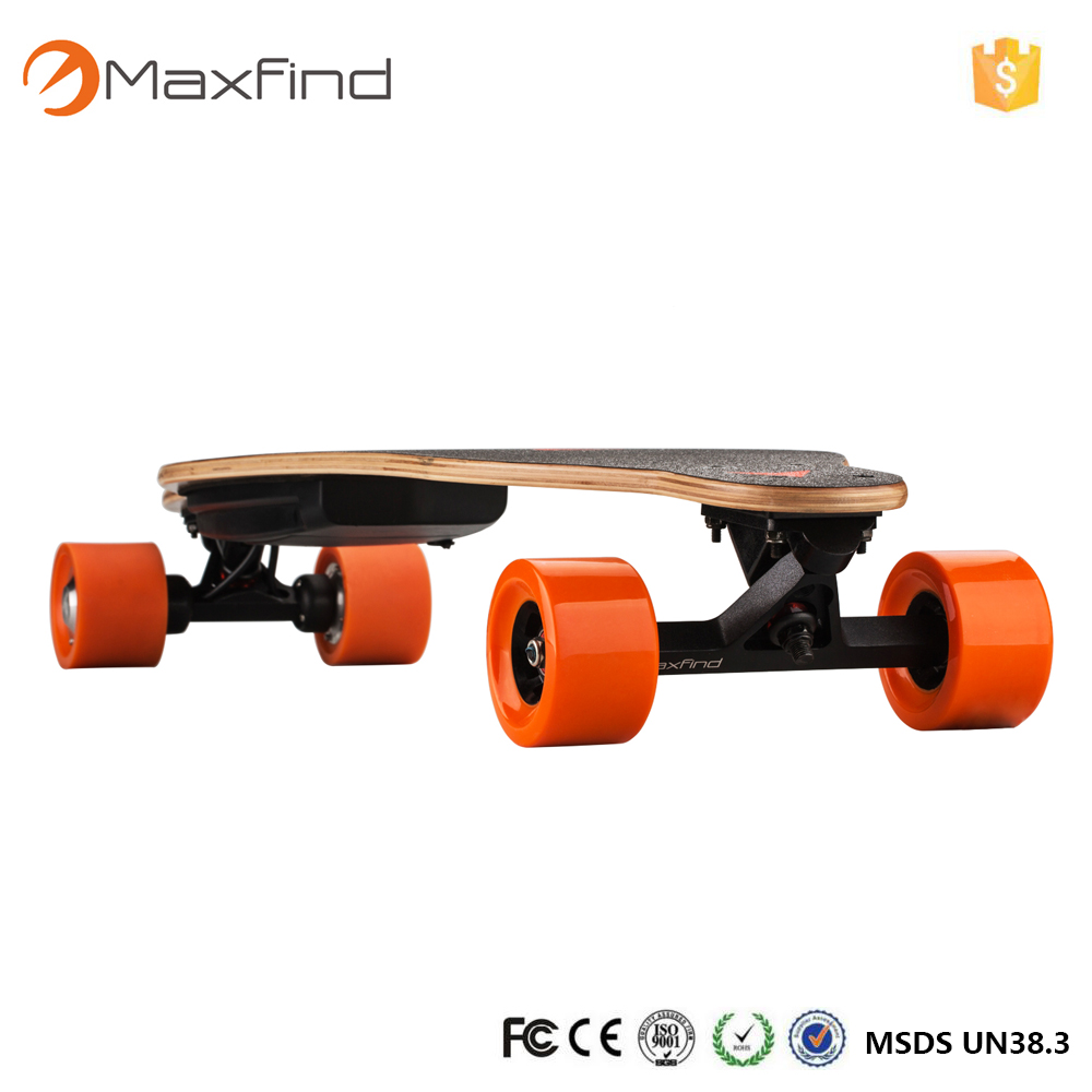 wholesale canadian maple blank skateboard decks for Maxfind dual motor electric skateboard