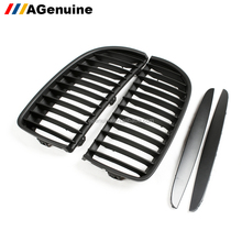 ABS matt black front bumper grill radiator mesh grills for BMW 3 series E90