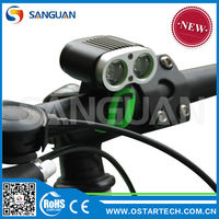 SG-T2200 super bright Rechargable moutain bike light road flash Led light for bike