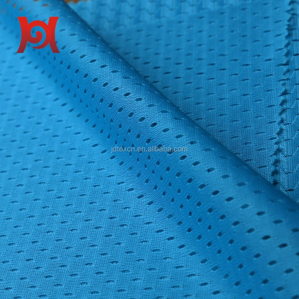 polyester sports mesh material/fabric for garment/bag.