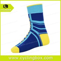 custom popular club rider cycling socks mens soft bike socks