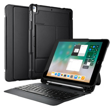 For new iPad 9.7 inch 2017 / Pro 9.7 / Air 2/ Air Tablet case cover with keyboard