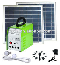 30w/12v home solar system for home lighting