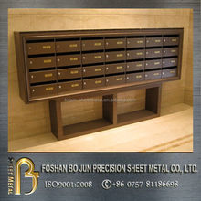 China supplier custom outdoor mailboxes for apartments , letter box