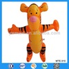 2014 latest PVC inflatale tiger toy in stock for kids