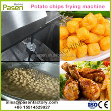 Commercial Gas Fried Food Frying Machine Fish Ball Fryer Equipment