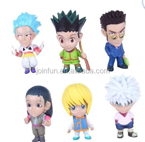 Custom plastic anime figure keychain, PVC keychain manufacturer, anime cartoon pvc keychain for kids maker