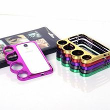 New Arrival Knuckles Rings case cover for Galaxy S4 i9500