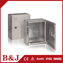B&J Low Price Outdoor Stainless Steel Enclosure IP66 Waterproof Electrical Junction Box