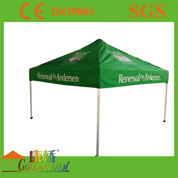 3mx3m cheap price and very easy pop up canopy tent/aluminum frame waterproof fabric top