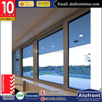 fitting aluminum American stype sliding window with hand crank