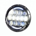 Super bright 105w jeep motification led headlights white yellow projector bi-xenon LED headlight for tractor motorcycle