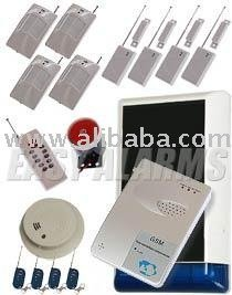 Autodialing GSM Burglar Alarm for Boat / Caravans / Home without telephone - complete kit (K7)