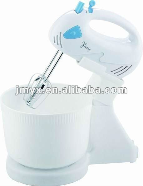 Hand electric mixer with bowl