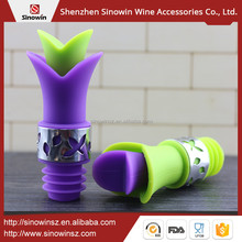 New Products 2017 Innovative Product Silicone Wine Drink Pourer Stopper