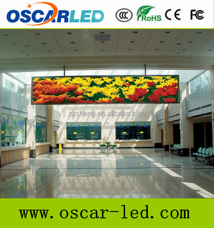 Oudoor Usage and text/picture/flash/video Display Function p16 RGB full color display module