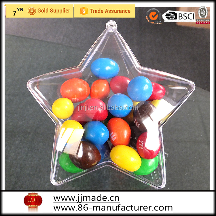 china factory new product christmas clear ball small clear