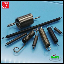 Industrial custom adjustable extension spring with double hooks, recliner high tension spring
