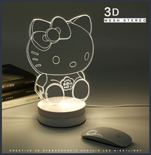 Cat Dog Monkey Robot Batman Hello Kitty Lamp Touch Table Led Lamp