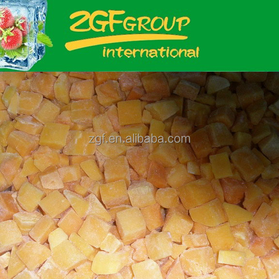delicious IQF health chinese fresh pumpkin have a hot sale in bulk