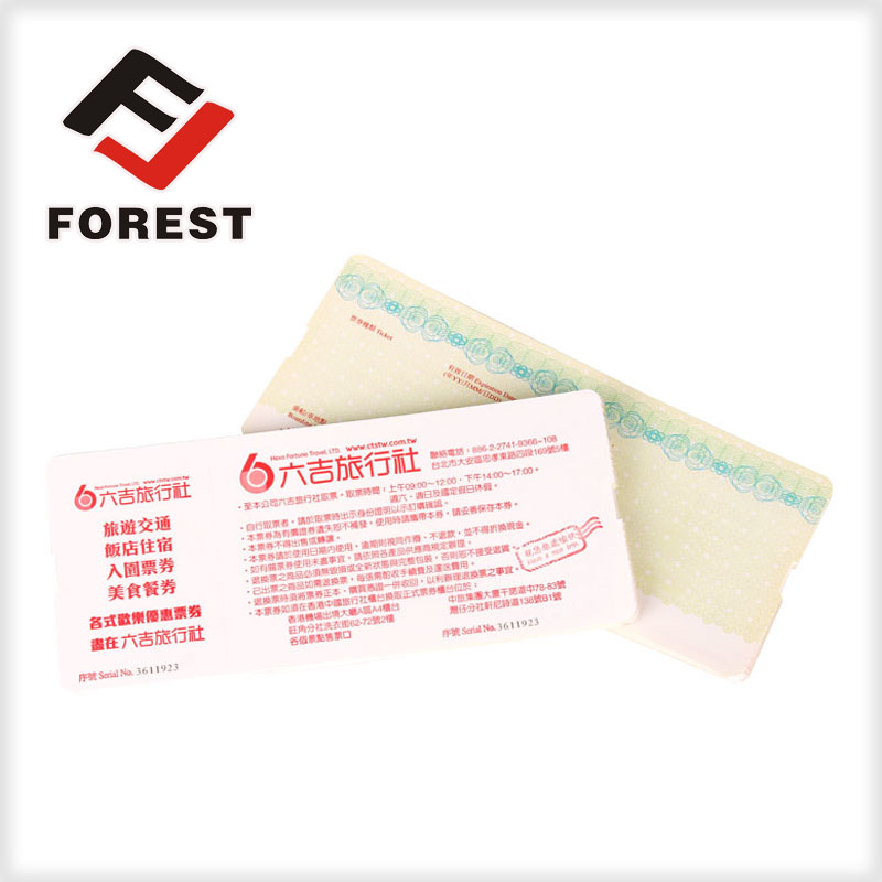 Tickets, coupons, posters printing services,anti-counterfeit coupon ticket printing
