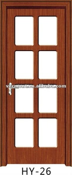 china manufacturer mobile Interior Door with glass