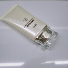 Hot Sale High-quality BB/CC cream foundation tube packaging cosmetic plastic oval flat tub