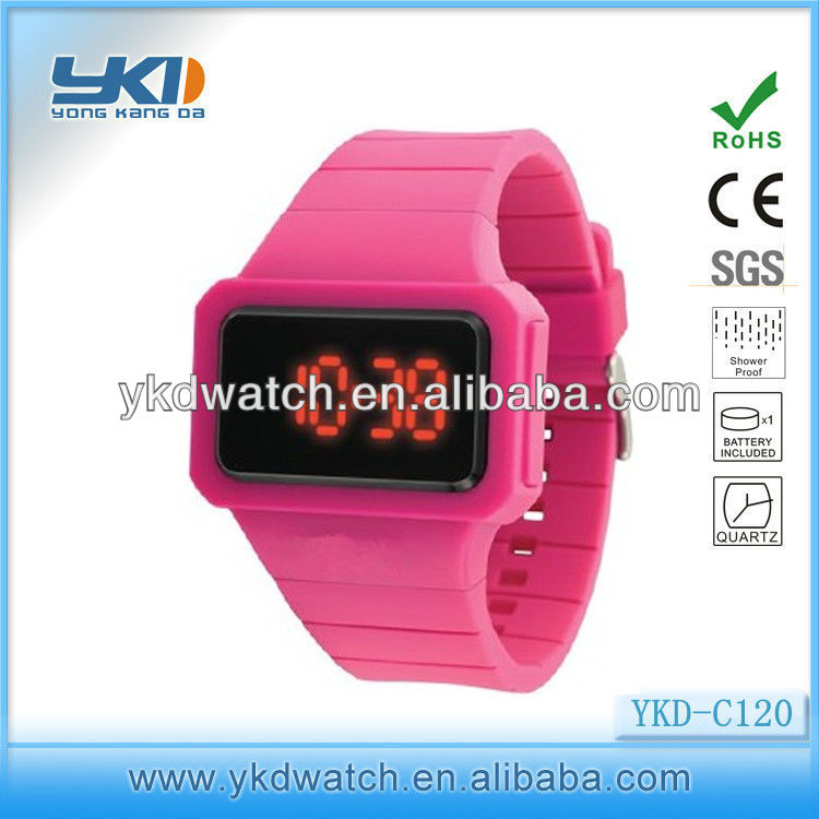 China wholesale cheap watches stopwatch plastic digital watch for world cup