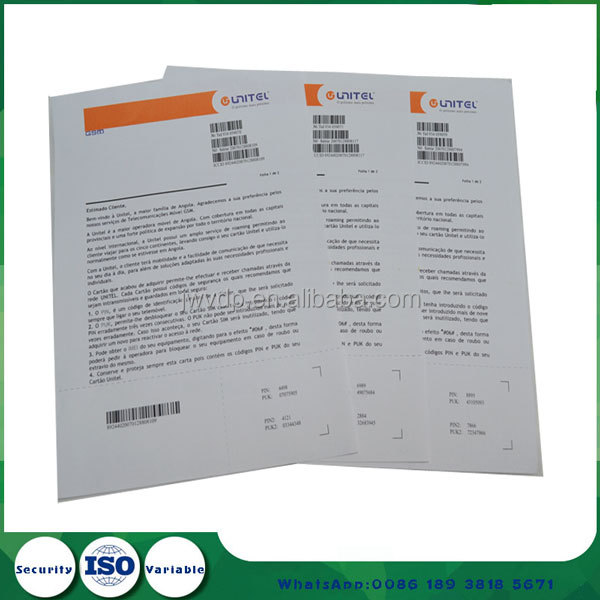 One-stop printing & mailing service letter printing custom letter