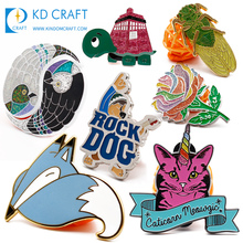 China manufacturer no minimum cheap <strong>design</strong> your own die cast embossed 3d enamel custom metal pin badge for souvenir