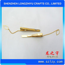 Fashion Metal Tie Clip/Clip On Tie Parts