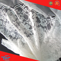 Floral Lace Fabric Wholesale Nylon Rayon Lace Fabric In Rolls For Dress