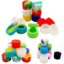 2017 100% Silicone Oil Wax Concentrate Container Jar