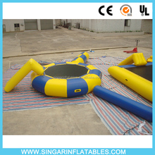 Summer Inflatable water toys used commercial trampoline sale