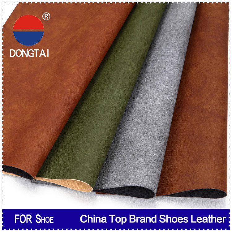 DONGTAI eco friendly pu\/pvc synthetic leather nonwoven fabric factory wholesale