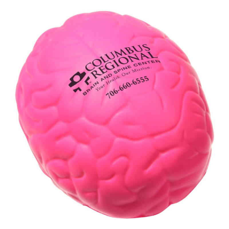 Logo printed cheapest brain stress balls