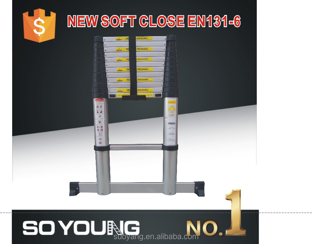 NEW SY EN131-6 New style outdoor safety construction round rube ladder of aluminum exsenion