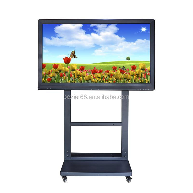 65 Inch multimedia touch screen network smart board for conference and school teaching