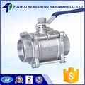 Professional China Manufacturer Cf8M Stainless Steel Ball Valve