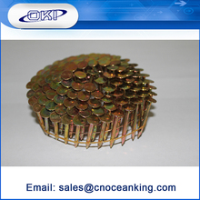 High quality galvanized umbrella head coil roofing nail
