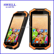 Waterproof Dustproof shockproof IP68 industrial phone with Octa Core CPU with NFC and Walkie Talkie cell phone case