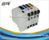 Perfect refillable ink cartridge LC539 with chip for brother DCP-J100/J105 printer