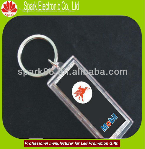 led mini lighting LCD solar keychain for promotion