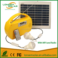 Portable Kits Lighting System Renewable Home Energy Solar Lighting Products For Home Appliances